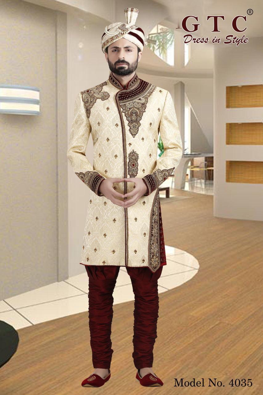 4035 Exclusive & Wedding Sherwani