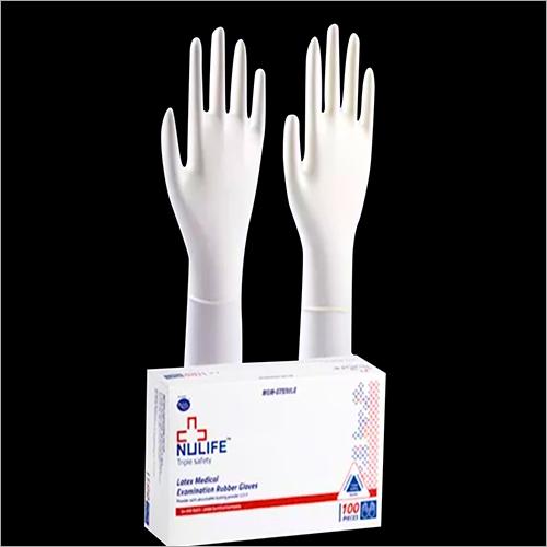Latex Medical Examination Rubber Gloves
