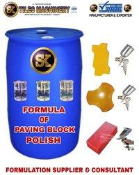 Formula of Paving Block Polish