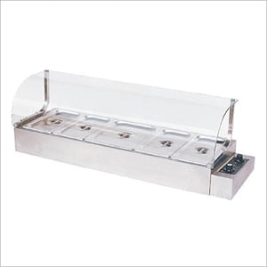 Bain Marie With Sneeze Guard