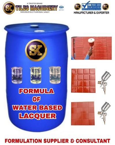 Formula of Water Based Lacquer Polish