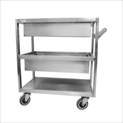 Commercial 3 Tier Trolley