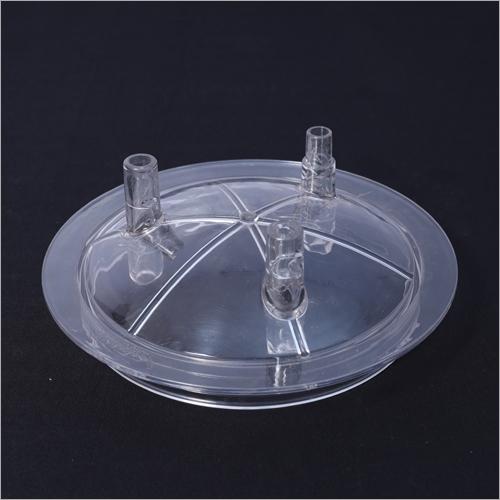 Transparent Plastic Basket Cap
