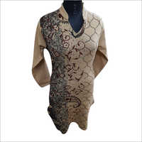 Ladies Party Wear Woolen Kurti