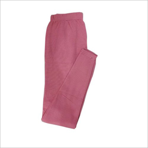 Ladies Pink Warm Woolen Leggings