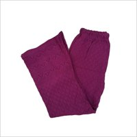 Ladies Casual Wear Woolen Palazzo