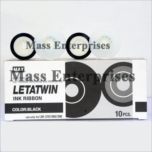 Max Letatwin Black Ink Ribbon