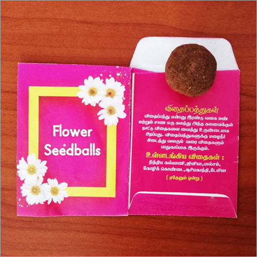 Flower Seed Ball Pockets