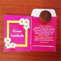 Flower Seed Ball Pockets
