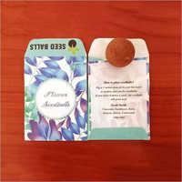 Eco Friendly Flowers Seed Ball Pockets
