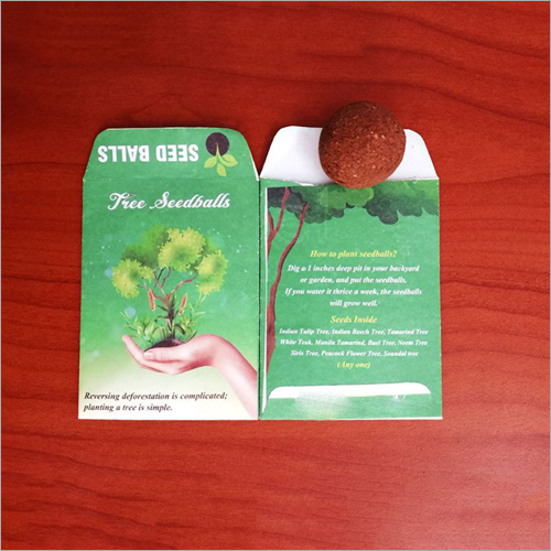 Eco Friendly Tree Seed Ball Pockets
