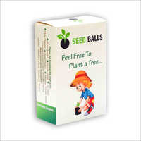 Pack of 6 Tree Seed Balls Gift Pack