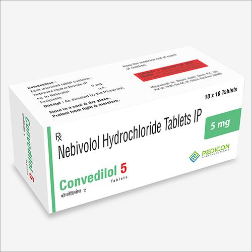 Convedilol 5  mg   Tablets