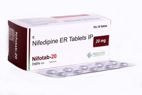 NIFEDIPINE ER 20