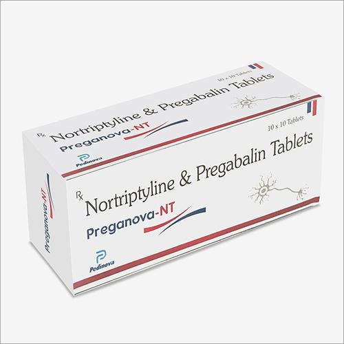 Nortriptyline 10mg + Pregabalin 75mg