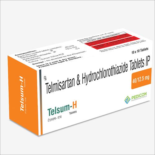 TELMISARTAN 40MG + HYDROCHLOROTHIAZIDE 12.5MG