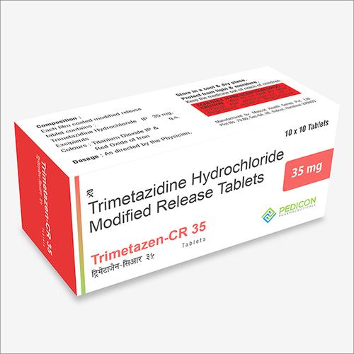 TRIMETAZIDINE HYDROCHLORIDE 35MG