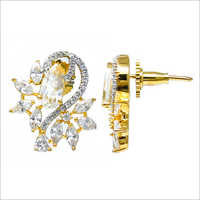 Artificial Cubic Zirconia Earrings