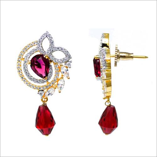 Artificial Kundan Meena Earrings