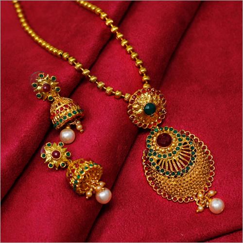 Artificial Simple Necklace Set