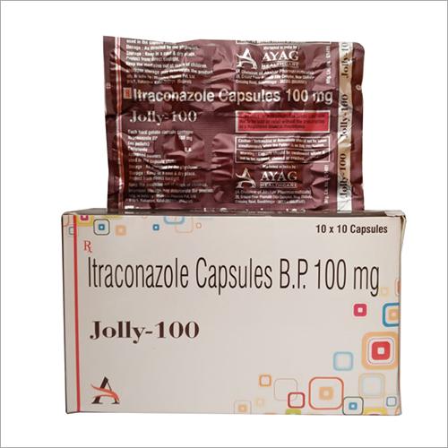 100mg Itraconazole Capsules B.P