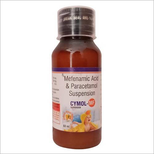 Mefenamic Acid & Pracetamol Suspension