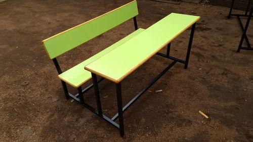 3 seater school bench