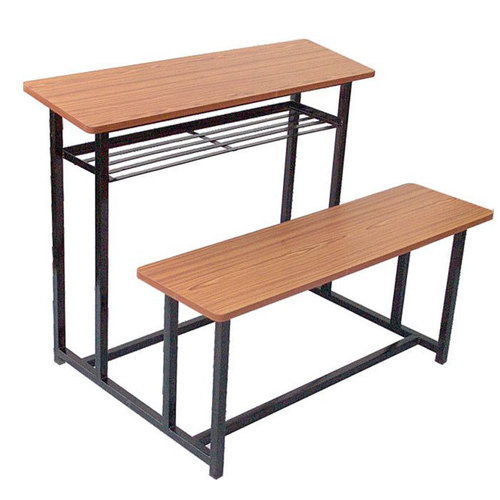 2 Seater School Desk Bench