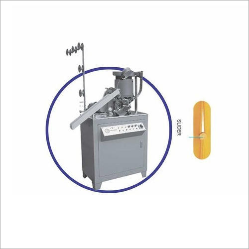 Automatic Invisible Zipper Slider Mounting Machine