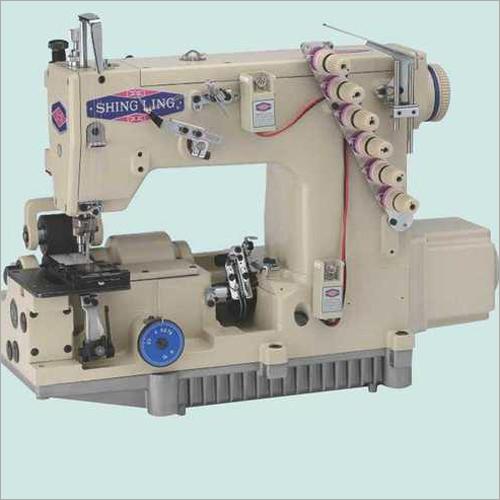 High Speed Industrial Zipper Sewing Machine With Servo Motor