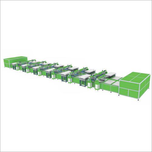 Oval Type Screen Printing Machine