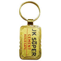 Metal Gold Plating Keychain
