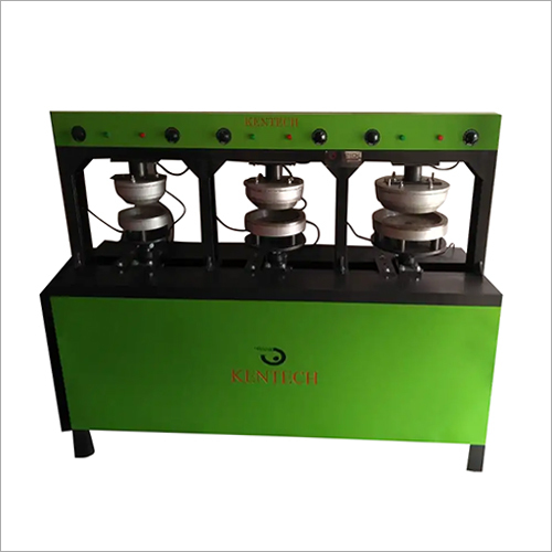 Three Die Disposable Plate Making Machine