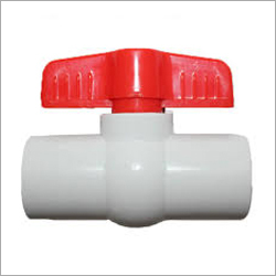 2 Way Threaded PVC Ball Valve