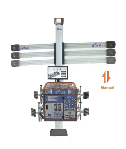 3D  Wheel Alignment Machine - 2 Camera Up/Down Technology - Manual