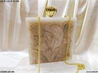 Handmade Resin Box Clutches