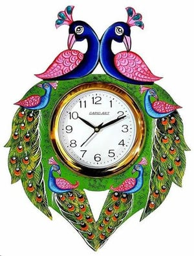Wooden Wall Clock Printed