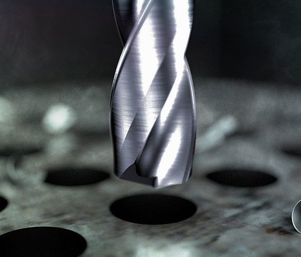 Solid Carbide Through Coolant Drill