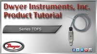 Series TDFS Thermal Dispersion Flow Switch