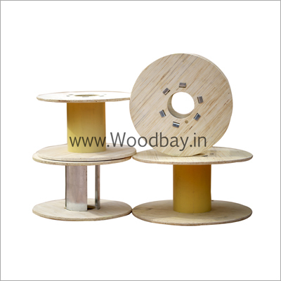 Plywood Cabel Reel With Pvc Barrel