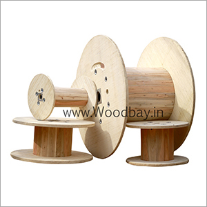 Plywood Cable Drum With Wooden Barrel