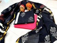 Bagru Print Cotton Salwar Suits