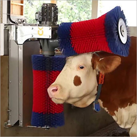 Rotating Cow Grooming Brush