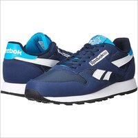 Reebok Classics Electro Navy Blue And White Shoes