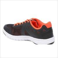 Mens Lotto Black & Crimson Running Shoes