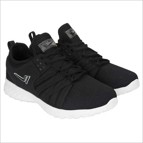 Men Black & White Calcetto BEN Running Shoes