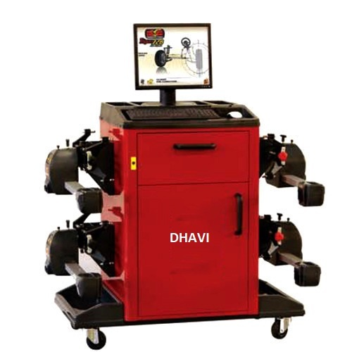 2D Wheel Alignment Machine