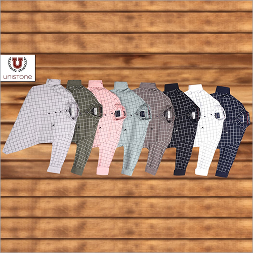 Mens Check Casual Shirts