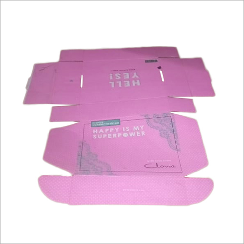 Custom Printed Carton Box