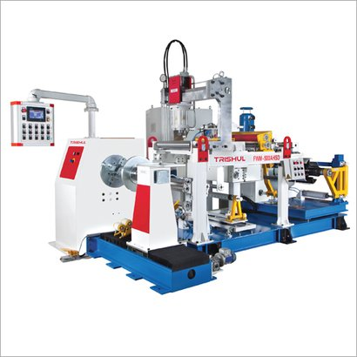 Automatic 200-500Mm Programmable Foil Winding Machine
